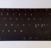 "Keyboard label Toshiba 14""-20"""